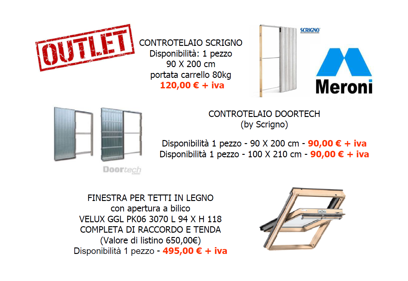 Outlet Luglio 2018 BIS