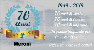 Meroni | 70 anni di storia