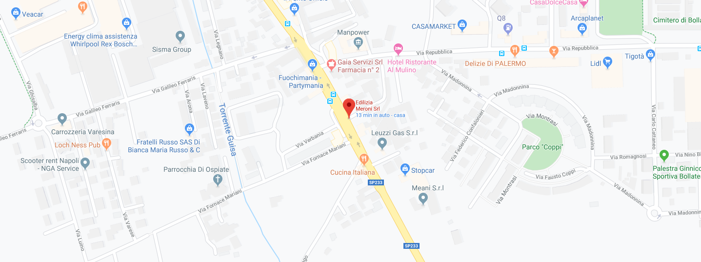 Edilmeroni Srl | Mappa
