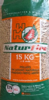 Pellet Naturfire 80 faggio - 20 abete